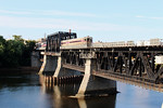 Merrimack River Bridge Control Car of Train 220